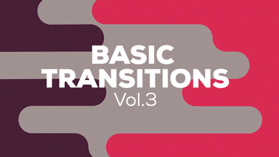 2D basic vector transitions pack volume 3